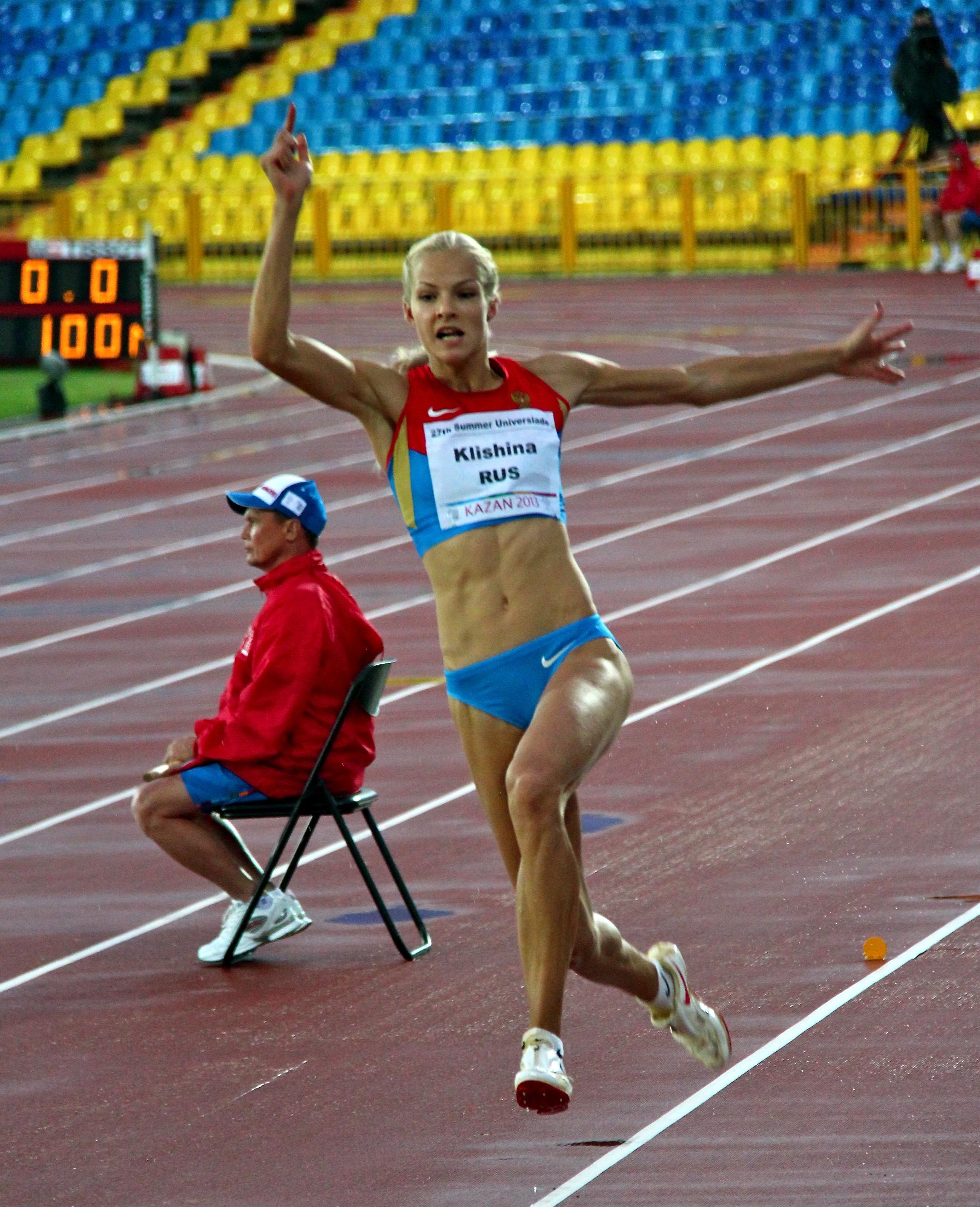 Female athletes...